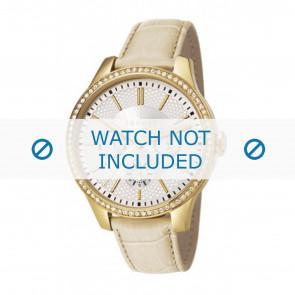 Esprit horlogeband ES107132003-40L Leder Beige + standaard stiksel