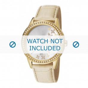 Esprit horlogeband ES107302004-40L Leder Beige + standaard stiksel