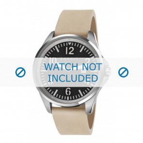 Esprit horlogeband ES107601001-40L Leder Beige