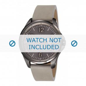 Esprit horlogeband ES107601003-40L Leder Grijs