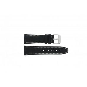 Pasek do zegarka Lotus 15536 Skórzany Czarny 26mm