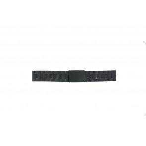 Fossil Pasek Do Zegarka Ch-2816 Stal Czarny 20mm