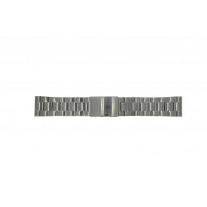 Pasek do zegarka Fossil FS4662 / 12XXXX / 25XXXX Stal Szary antracyt 24mm