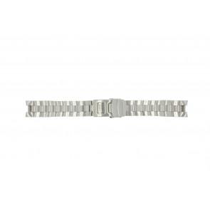 Buddha to Buddha horlogeband 39mm / BTB.F.D.CH.1.1 Staal Zilver
