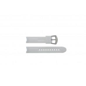 Pasek do zegarka BTB.F.R.CH.05 / BTB.F.R.CH.01 Gumowy Biały 19mm