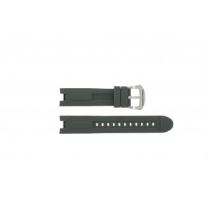 Pasek do zegarka BTB.M.D.CH.2.2 Gumowy Szary 21mm