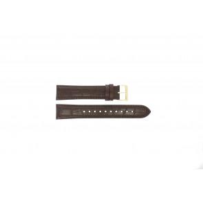 Pasek do zegarka Hugo Boss HB-334-1-34-3114 / HB1513640 / HB659302886 Skórzany Brązowy 20mm