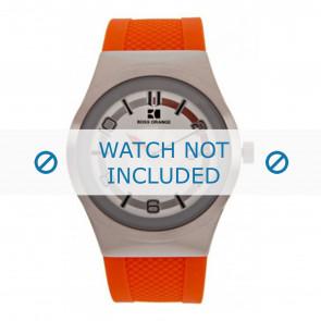 Hugo Boss horlogeband HB-155-1-14-2390 / HO1512693 Rubber Oranje