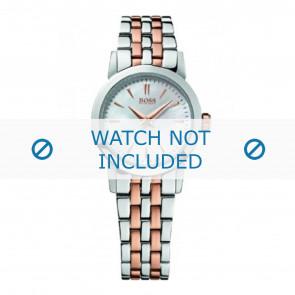 Hugo Boss horlogeband HB-194-3-14-2551 / HB1502344 Staal Bi-Color