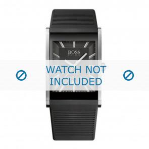 Hugo Boss horlogeband HB1512980 / HB-218-1-14-2615 Rubber Zwart