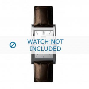 Hugo Boss horlogeband HB-22-1-14-2008 / HB1512033 Leder Bruin