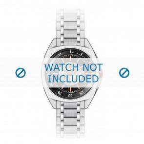 Hugo Boss horlogeband HB-52-1-14-2098 / HB-52-1-14-2101 / HO1512296 / HO1512300 / HO1512294 Staal Zilver