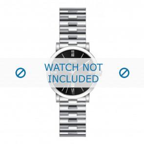 Hugo Boss horlogeband HB1512010 / HB-19-1-14-2002 Staal Zilver