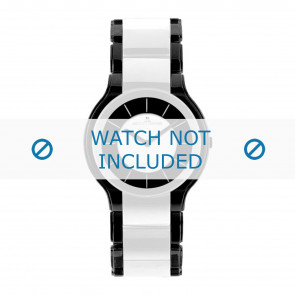 Jacques Lemans horlogeband 1-1582E Keramiek Multicolor