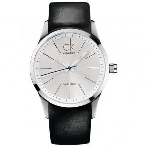 Pasek do zegarka Calvin Klein K2241126 Skórzany Czarny