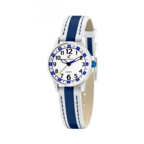 Pasek do zegarka Calypso k5212-1 Skórzany Niebieski