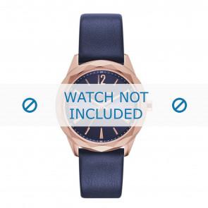 Karl Lagerfeld horlogeband KL4004 Leder Blauw