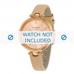 Kate Spade New York horlogeband 1YRU0812 / Holland Leder Beige