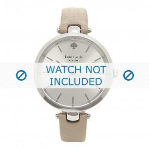 Kate Spade New York horlogeband 1YRU0813 / Holland Leder Taupe