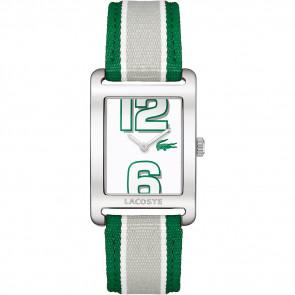 Pasek do zegarka Lacoste 2000696 / LC-51-3-14-2261 Skórzany Zielony 20mm