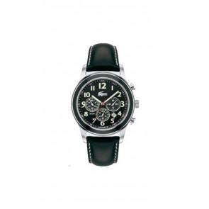 Pasek do zegarka Lacoste 2010333 / LC-11-1-14-0032 Skórzany Czarny 22mm