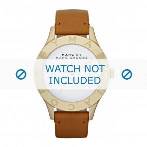 Marc by Marc Jacobs horlogeband MBM1218  Leder Cognac 20mm