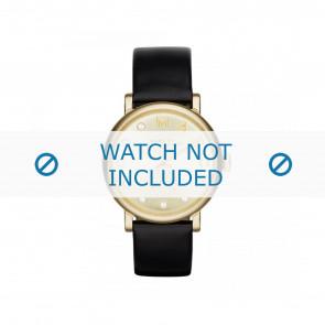Marc by Marc Jacobs horlogeband MBM1399 Leder Zwart 18mm