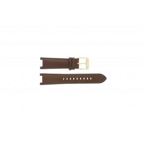 Pasek do zegarka Michael Kors MK2249 Skórzany Brązowy 21mm