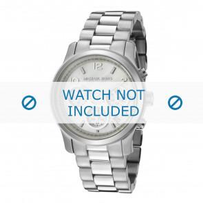 Michael Kors horlogeband MK5304 Roestvrij staal (RVS) Zilver 20mm
