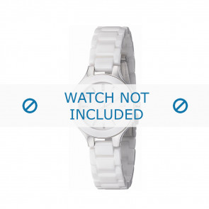 Dkny Pasek Do Zegarka Ny-4886 Ceramics Biały 14Mm