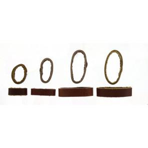 Pasek Do Zegarka Keeper Skóra Brązowy 10mm