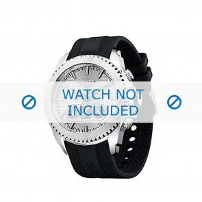Police horlogeband P-12076J/JSTB/01 Rubber Zwart