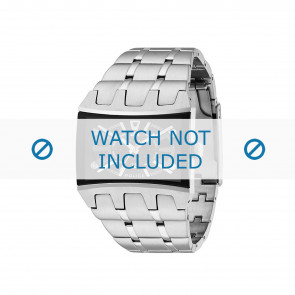 Police horlogeband 13420js/02MA Staal Zilver