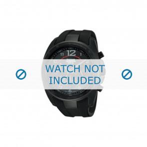 horlogeband PT3605X1 / VD53 X167 Rubber Zwart