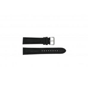Pasek do zegarka Pulsar Y182-6C100 Skórzany Czarny 20mm