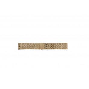 Fossil Pasek Do Zegarka Es-3799 Stal Złoty (Rosé) 10mm