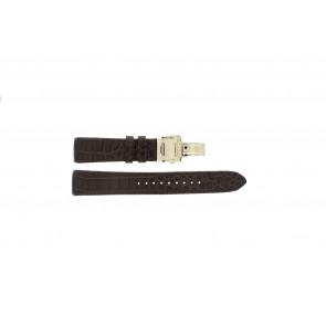 Pasek do zegarka Seiko 5D88-0AA0 / SRX004P1 / 4A072JL Skórzany Brązowy 21mm