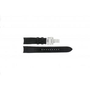 Pasek do zegarka Seiko 6G34-00E0 / SRL021P1 Skórzany Czarny 21mm