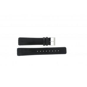 Pasek do zegarka Skagen 433LSLC Skórzany Czarny 18mm