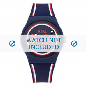 Superdry horlogeband SYG198UR Kunststof / Plastic Blauw