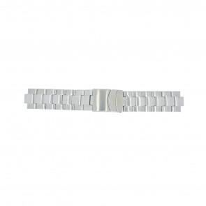 Timex Pasek Do Zegarka T2N809 Stal Srebrny 10mm
