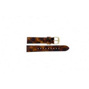 Timex Pasek Do Zegarka T2P237 Skóra Brązowy 18mm