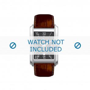 Tommy Hilfiger horlogeband TH679300841 / TH-17-1-14-0631 / TH1710127 Leder Bruin + bruin stiksel