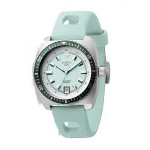 Pasek do zegarka Zodiac ZO2246 Gumowy Jasny niebieski