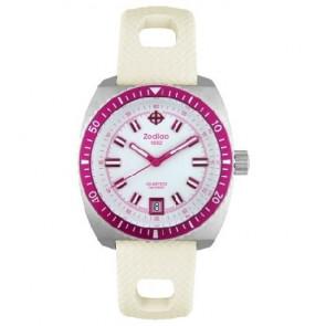 Zodiac horlogeband ZO2269 Rubber Wit