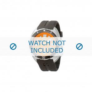 Pasek do zegarka Zodiac ZO8002 / ZO8001 Gumowy Czarny 21mm
